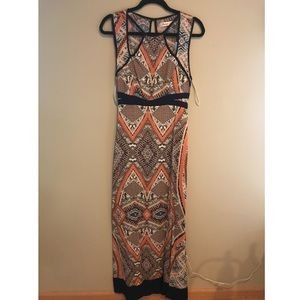 NWT cutout maxi dress
